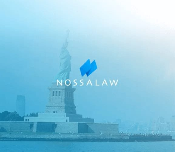 Client Project – Nossa Law Office – Houston Web Design